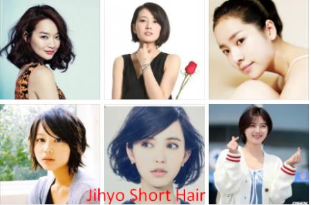 Jihyo Short Hair