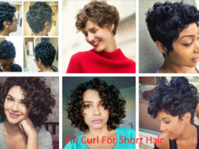 Pin Curl For Short Hair